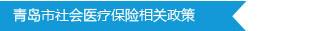 青岛市社会医疗保险相关政策