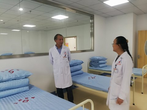 北京回龙观医院,孙毅,主任,莅临,学术交流,指导